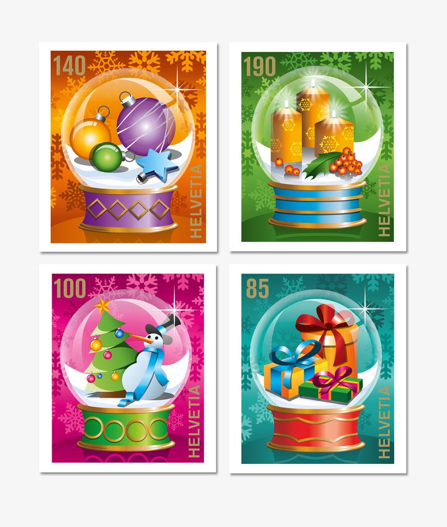 Briefmarken Weihnachten
