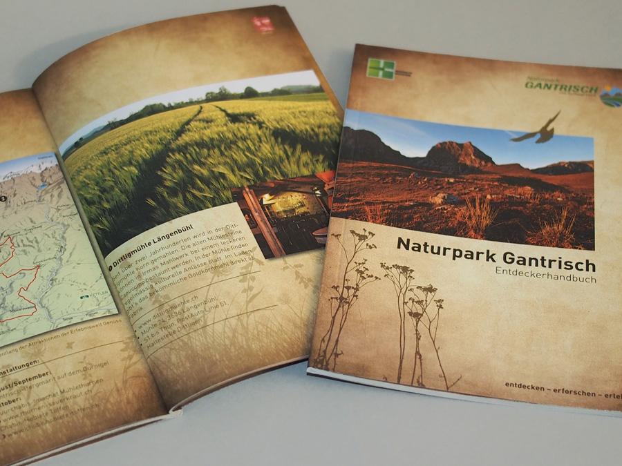 Entdeckerhandbuch Naturpark Gantrisch