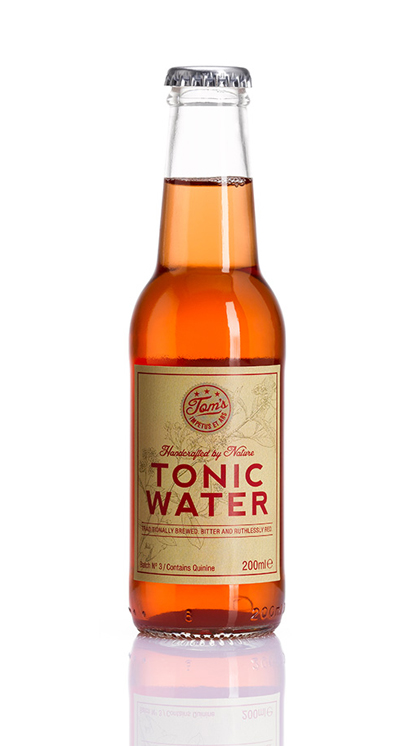 Flasche Tom's Tonic Water