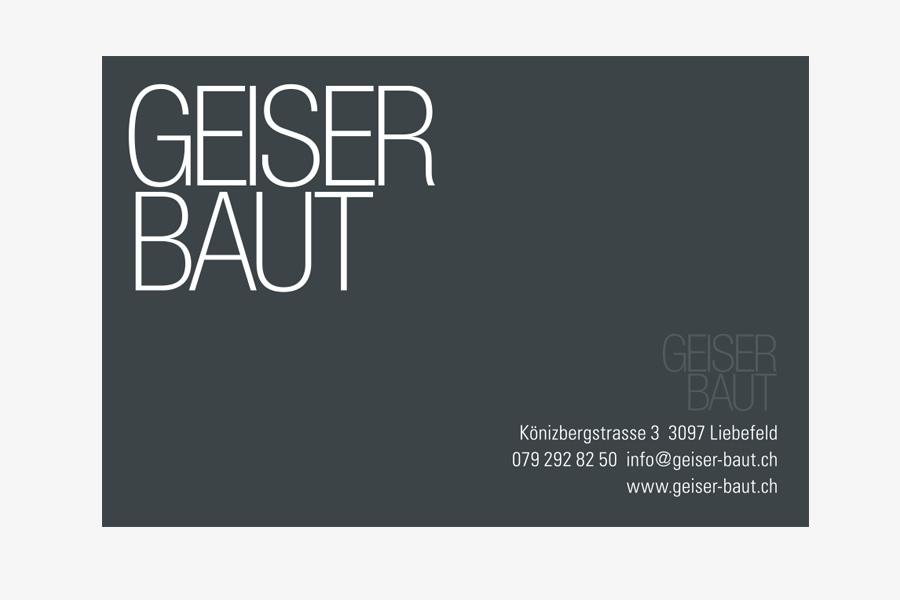 Blache Bau Geiserbaut